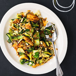 Spicy Chicken and Bok Choy Stir-Fry