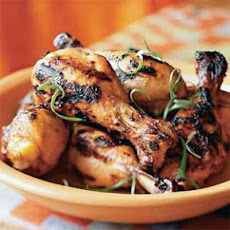 Marinated Grilled Chicken Legs