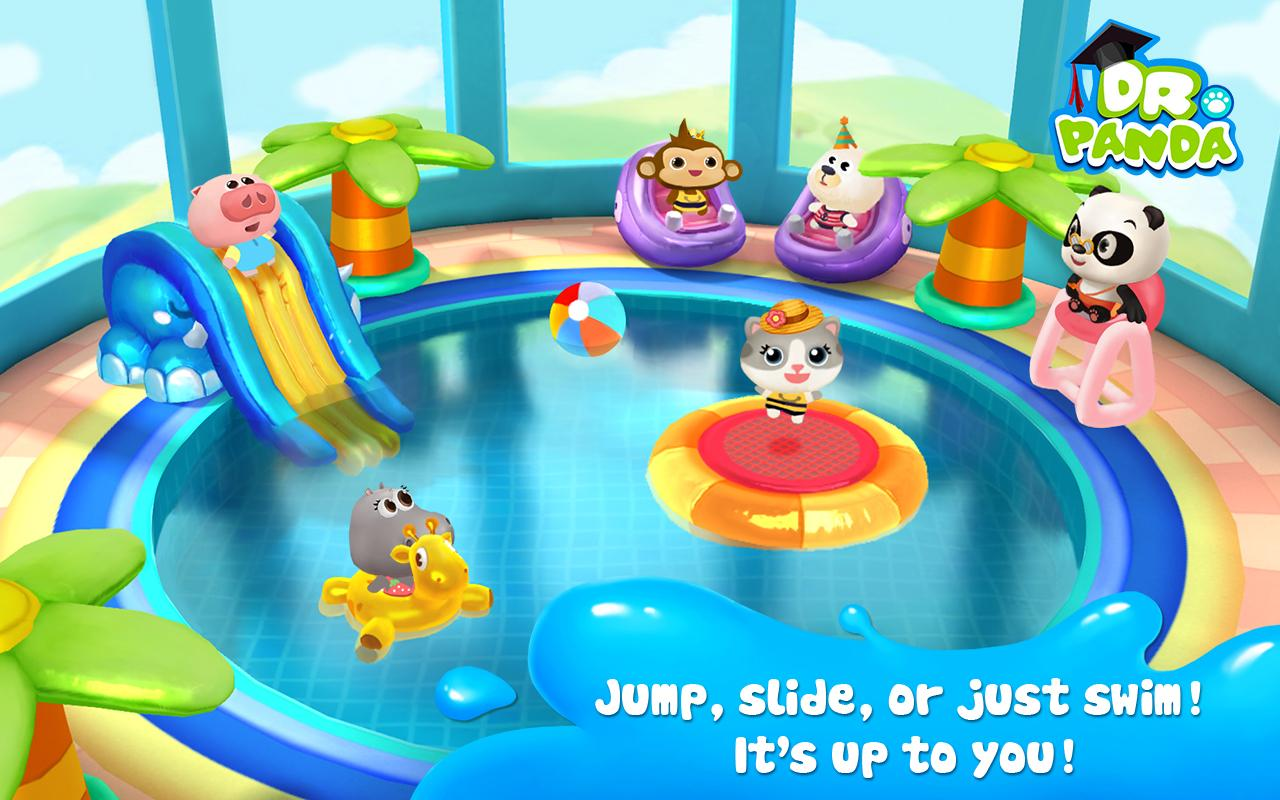Dr. Panda's Swimming Pool Screenshot 3