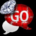 GO SMS - Diva Diamonds SMS icon