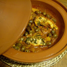 Fish Tagine With Olives (Moroccan Stew)