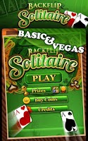 Screenshot of Solitaire by Backflip