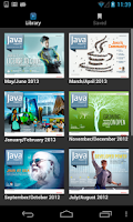 Screenshot of Java Magazine