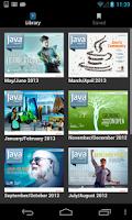 Screenshot of Java Magazine