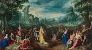 RIJKS: Karel van Mander (I): The Continence of Scipio 1600