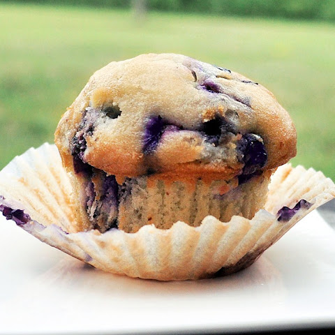 Single-Serving Blueberry Muffin