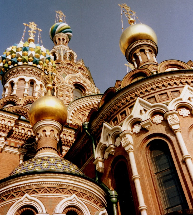 Church of the Spilled Blood by VAM Photography - Buildings & Architecture Places of Worship ( russia, church, moscow, architecture, travel,  )
