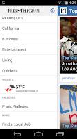 Screenshot of Long Beach Press-Telegram