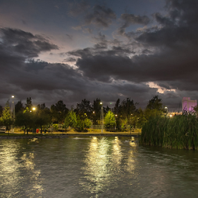 Lineal Park at Puebla by Cristobal Garciaferro Rubio - City,  Street & Park  City Parks