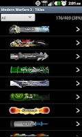 Screenshot of MW3 Titles and Emblems