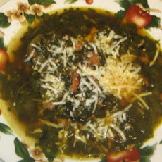 Italian Spinach and Sausage Soup