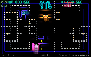 Screenshot of PAC-MAN Championship Ed. Demo