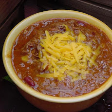 Beef Chili With Ancho, Red Beans and Chocolate