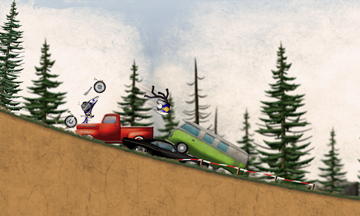 Game Stickman Downhill Motocross APK for Kindle