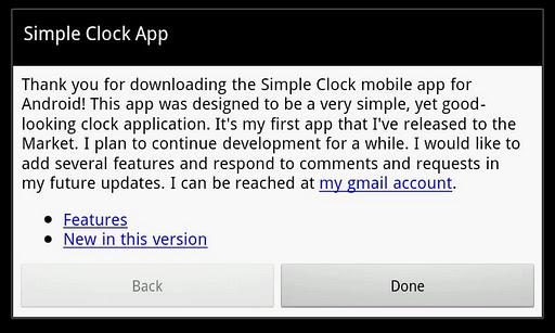 【免費工具App】Simple Clock-APP點子