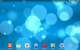 Screenshot of Light Bokeh Live Wallpaper