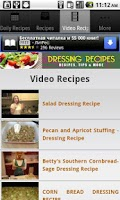 Screenshot of Dressing Recipes!