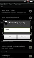 Screenshot of Nova Battery Tester