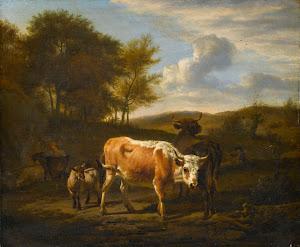 RIJKS: Adriaen van de Velde: painting 1663