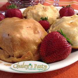 The Chaley's Pasty by Emily Samples - Food & Drink Cooking & Baking ( baked foods, food, hd, photo, strawberry )