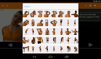 Screenshot of Stretching Routines