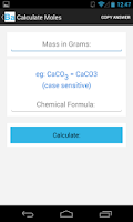 Screenshot of Chemistry Assistant Free
