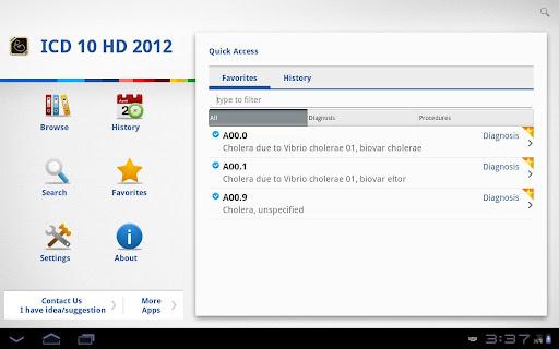 【免費醫療App】ICD 10 HD 2012-APP點子