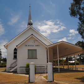 APOSTOLIC CHURCH  by James Menteith - Buildings & Architecture Places of Worship ( building, places, architecture, worship, photography )