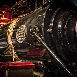 Steam Engine by Byran Forbes - Transportation Trains ( 2014, smithsonian, d.c., museum, transportation )
