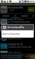 Screenshot of Thailand Radio