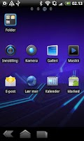 Screenshot of Honeycomb GO Launcher EX Theme