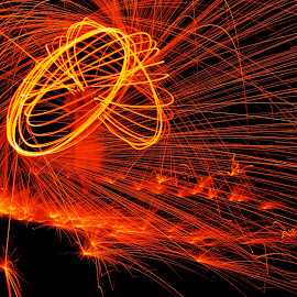 by Jenny Solberg Warfield - Abstract Light Painting
