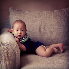 Couch Potatoe by Steve Liu - Babies & Children Babies (  )