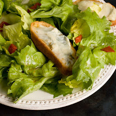 Escarole Salad with Blue Cheese Toasts Recipe