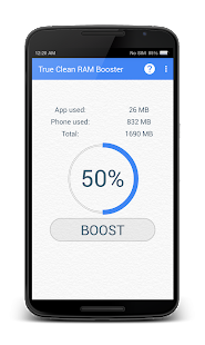 Download True Clean RAM Memory Booster APK for PC