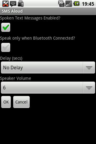 SMS Aloud