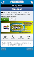 Screenshot of Mercado Libre Paraguay
