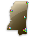 Mississippi Fishing Maps - 9K icon
