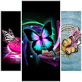 APK App Butterfly Fashion Wallpapers for iOS