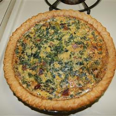 Gouda Spinach Quiche