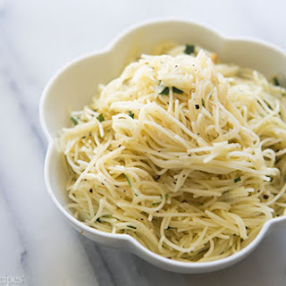 Angel Hair Pasta Olive Oil Parmesan Recipes