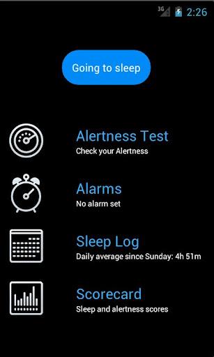 SleepFit - Alarm Sleep Log