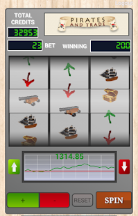 Pirates Slot & Trade - screenshot