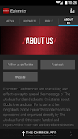 Screenshot of Epicenter Conference