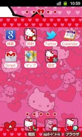 Screenshot of HELLO KITTY Theme9