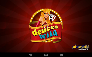 Screenshot of Deuces Wild - Video Poker