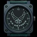 AIR FORCE CLOCK WIDGET icon