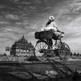 Morning Spirit by Asmo Dedy - Transportation Bicycles