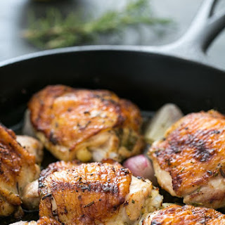 Skillet Lemon Rosemary Chicken