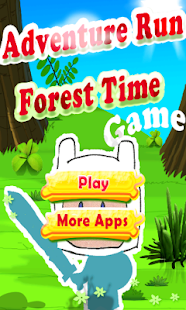 Adventure Run Forest Time - screenshot